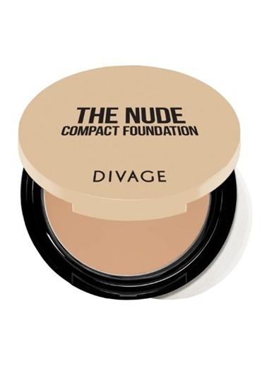 Divage Divage The Nude - Kompakt Fondöten 01 Renkli